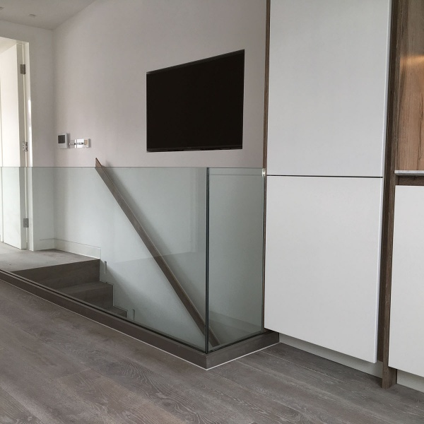 Glass balustrades, photo: 52