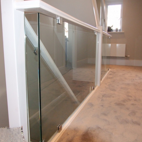 Glass balustrades, photo: 96