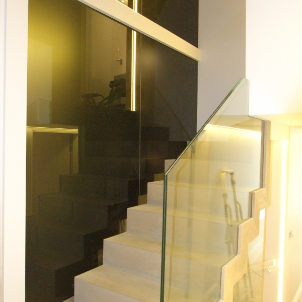 Glass balustrades, photo: 17