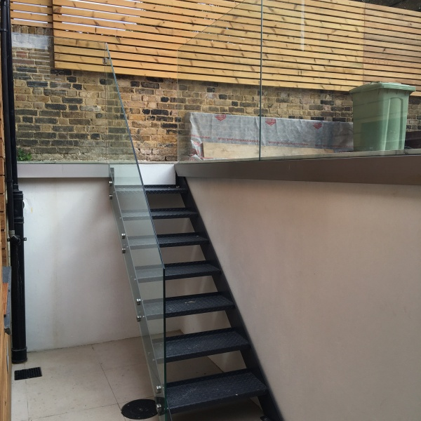 Glass balustrades, photo: 32
