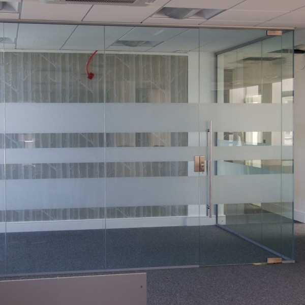 Glass office partitions, photo: 4