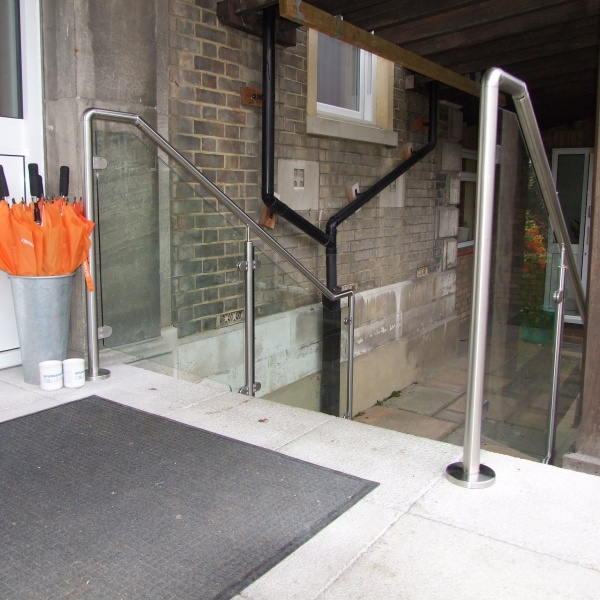 Glass balustrades, photo: 88
