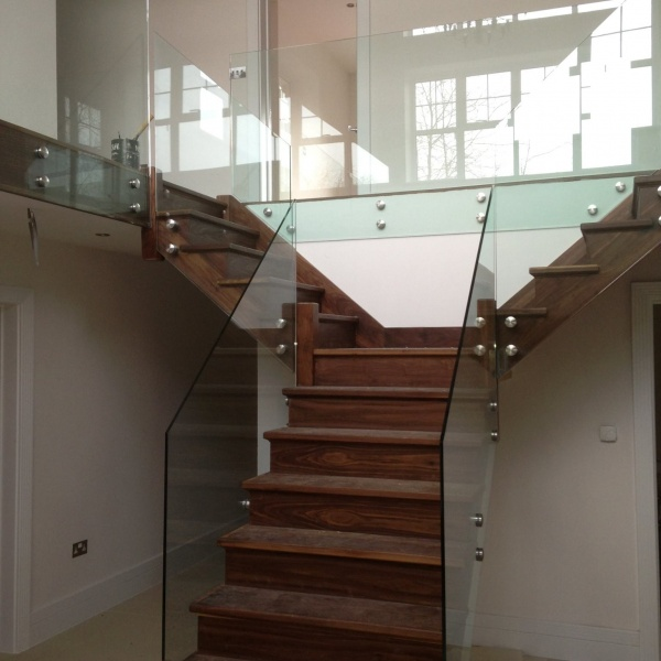 Glass balustrades, photo: 1