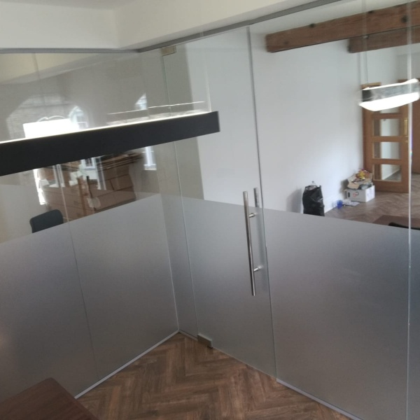 Glass office partitions, photo: 14