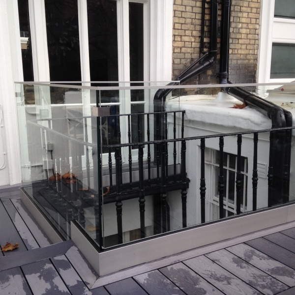 Glass balustrades, photo: 65