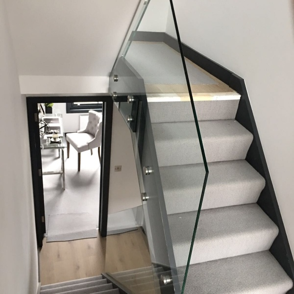 Glass balustrades, photo: 43