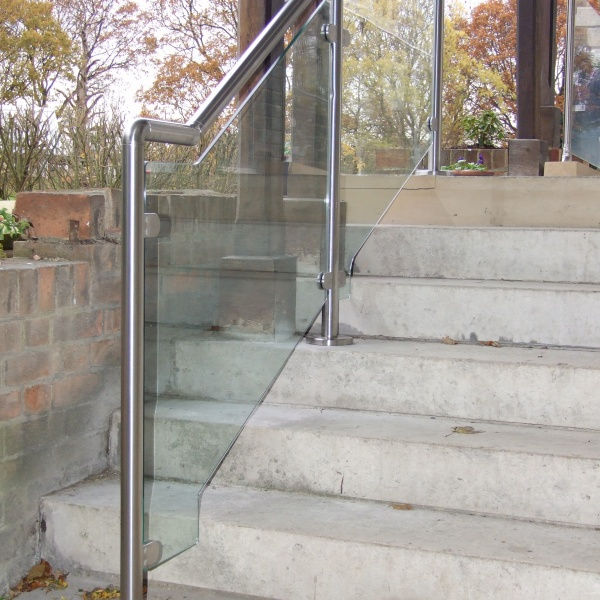 Glass balustrades, photo: 89