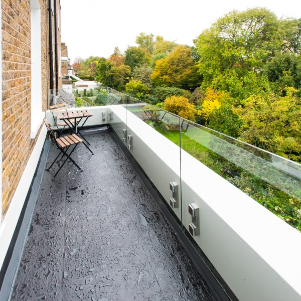 Glass balustrades, photo: 79