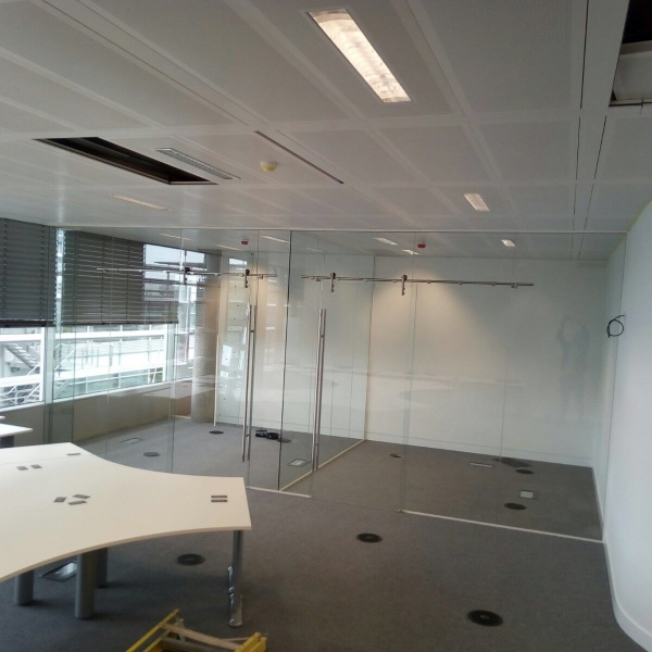 Glass office partitions, photo: 8