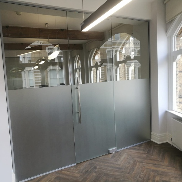 Glass office partitions, photo: 12