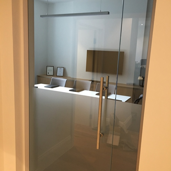 Glass office partitions, photo: 17