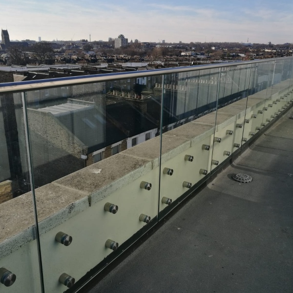 Glass balustrades, photo: 55