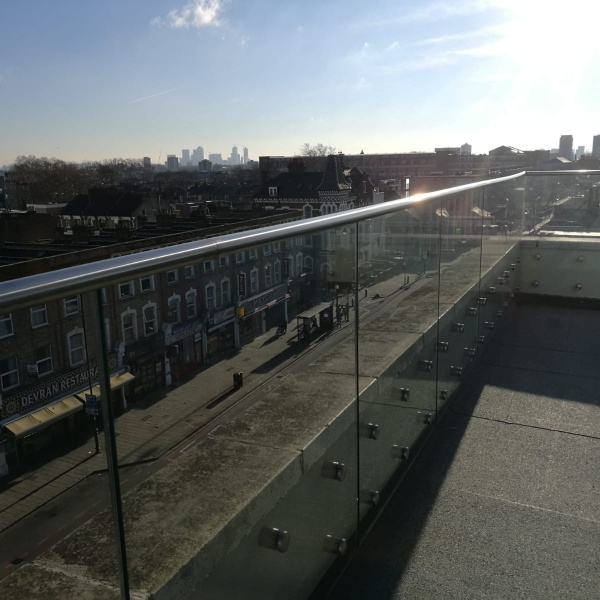 Glass balustrades, photo: 56