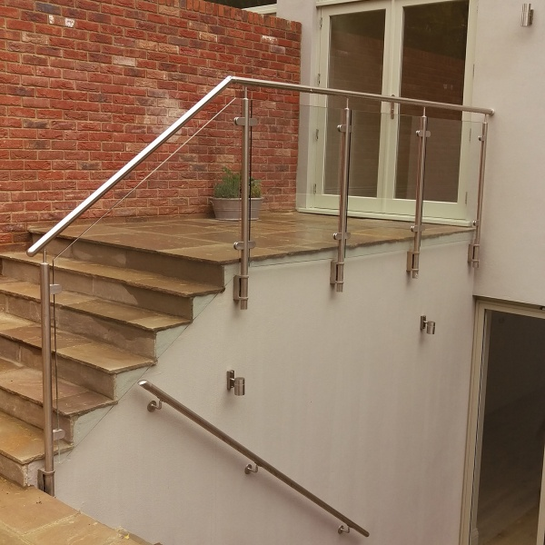 Glass balustrades, photo: 11