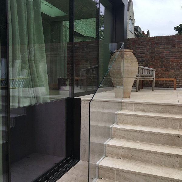 Glass balustrades, photo: 48
